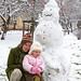 First Snowman (November 2010)