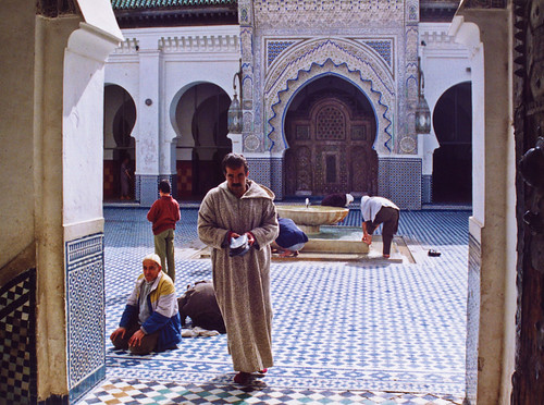 A mosque in Fez, Morocco