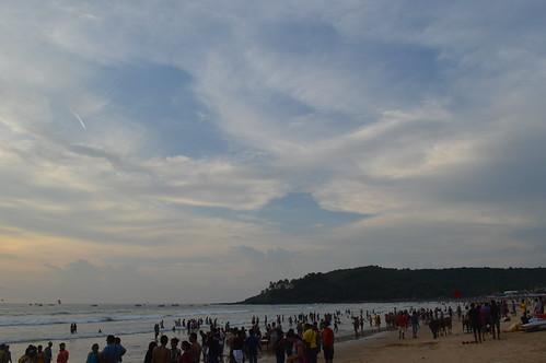 Baga Beach(White Sand Beach)
