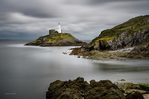 uk longexposure lighthouse swansea wales nikon filter nd d750 mumbles alexring
