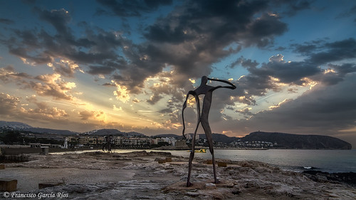 sky españa clouds landscape coast spain mediterranean paisaje tourist alicante cielo nube sunbeams moraira costablanca marinaalta wbpa recesvintus