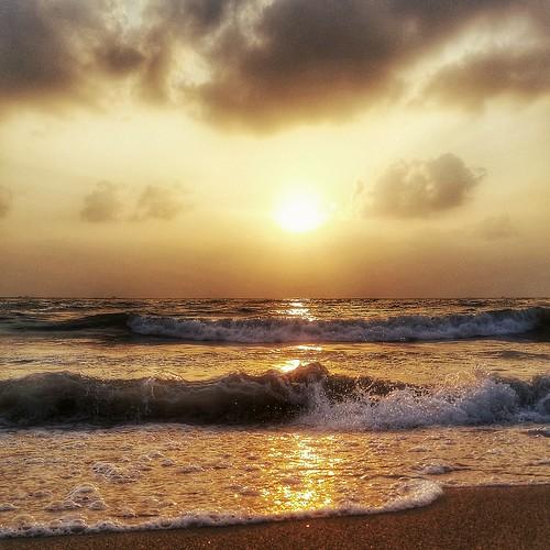 travel india sunrise bliss chennai tamilnadu southindia bayofbengal