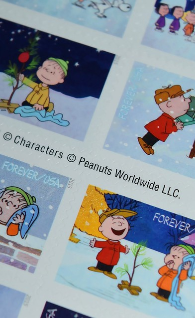 Peanuts Forever Stamps