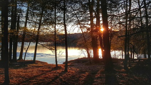 sunset pennsylvania pa waynecounty barkleylake