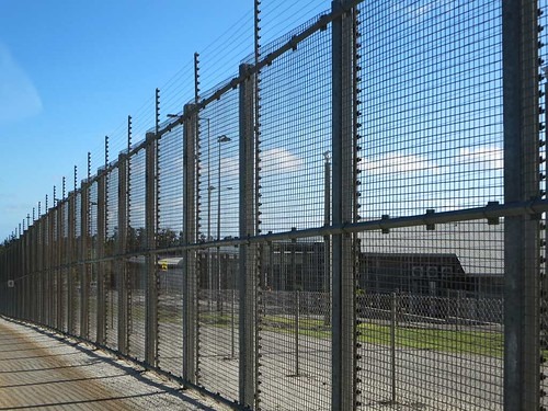 Detention Center Fencing   by D-Stanley