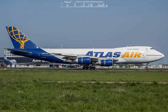 N526MC Atlas Air Boeing 747-2D7B(SF)