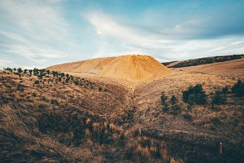 rural landscape australia sa southaustralia manmadelandscape sellicksbeach manmademound vsco