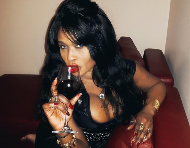 Wine fun with Sabine Mondestin