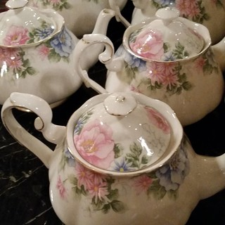 Tea anyone? #afternoontea #cgwevent #Tea #teapot #CGW #biltmorehotel