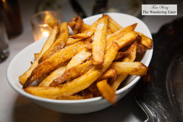 French fries with the Côte de bœuf