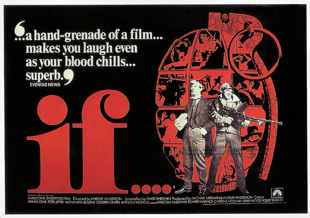 If.... (1968) | British postcard by Paramount Pictures for t… | Flickr
