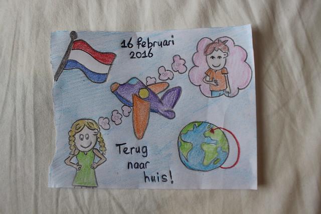 Alleen terug naar NL