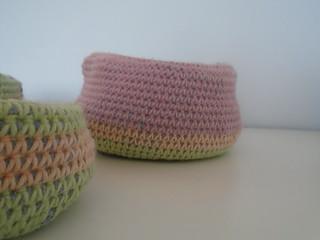 large crochet basket | by woolapple