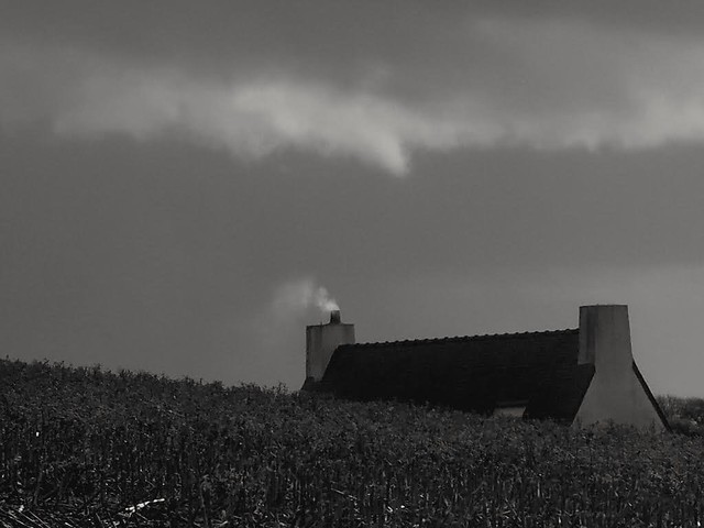 A l'abri de la tempête... Sheltered from the storm....