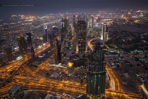 city night buildings dubai view nuit vue ville immeubles dubaï burjkhalifa