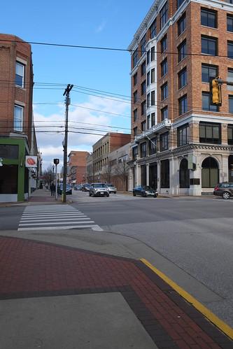 Market Street Parkersburg Wv Photograph by Janet Pugh