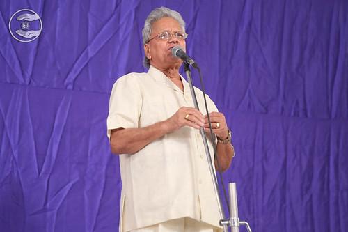 Channi Faridabadi from Kalkaji expresses his views
