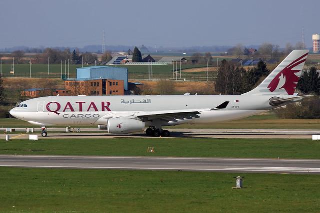 Qatar Airways Cargo Airbus A330-243F A7-AFV