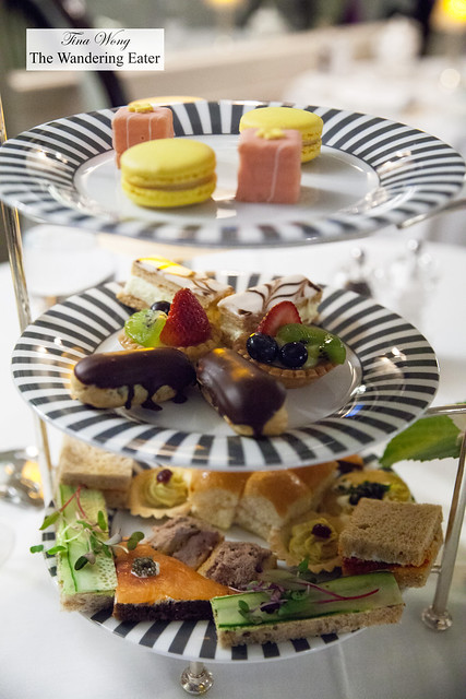 Our tier for afternoon tea