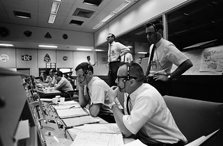 Mission Control during Apollo 10 | by NASA on The Commons