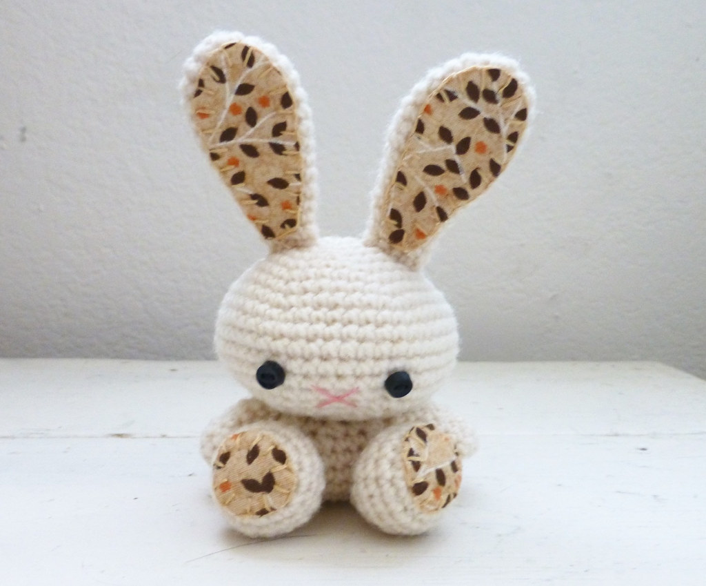 Ravelry: Bunny Lovey Parts & Pieces pattern by Victoria Stewart | 849x1024