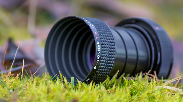 Carl Zeiss P-Sonnar 90mm ƒ/2.5 T✮ projection lens (converted to SONY E-mount)