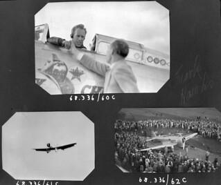 Northrop Gamma Racing Airplane