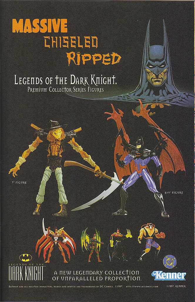 "KENNER:: ""LEGENDS OF THE DARK KNIGHT"".. "" MASSIVE - ""  (( 1997 )) by tOkKa"