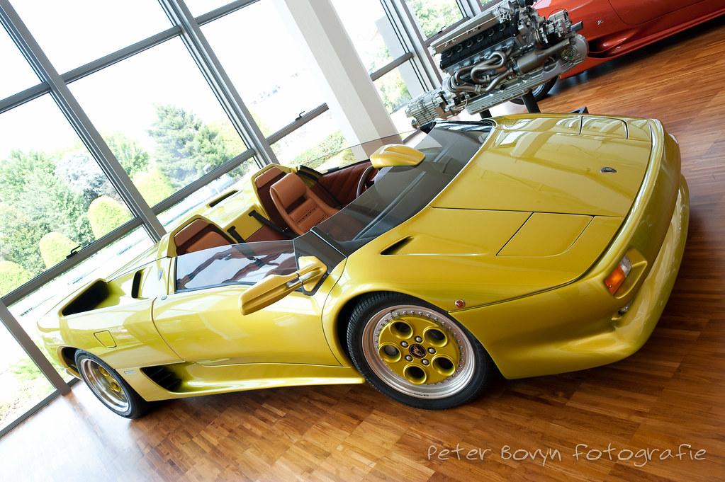 Lamborghini Diablo Roadster Concept 1992 Museo Lamborghi Flickr