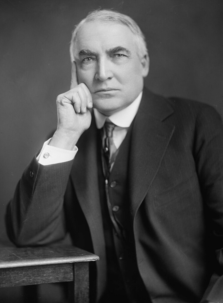 29 Warren G. Harding | Warren G. Harding by Harris & Ewing, … | Flickr