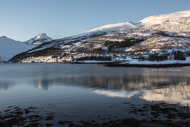 Fjord of snow