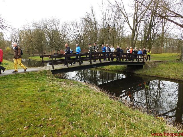 2016-03-23 stads en landtocht  Dordrecht            24.3 Km  (100)