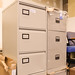 Open 3 or 4 drawer filing cabinets