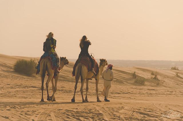 Trip through the desert.