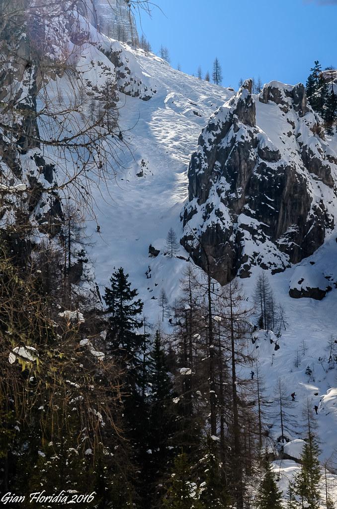 Alta Badia: La Val de Mezdì, mito degli sciatori freestyle