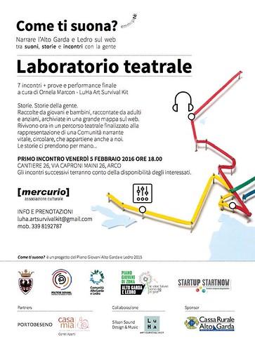 Laboratorio Teatrale Come Ti suona? | by PORTOBESENO