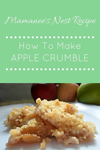 APPLE CRUMBLE | by Mamanee's Nest