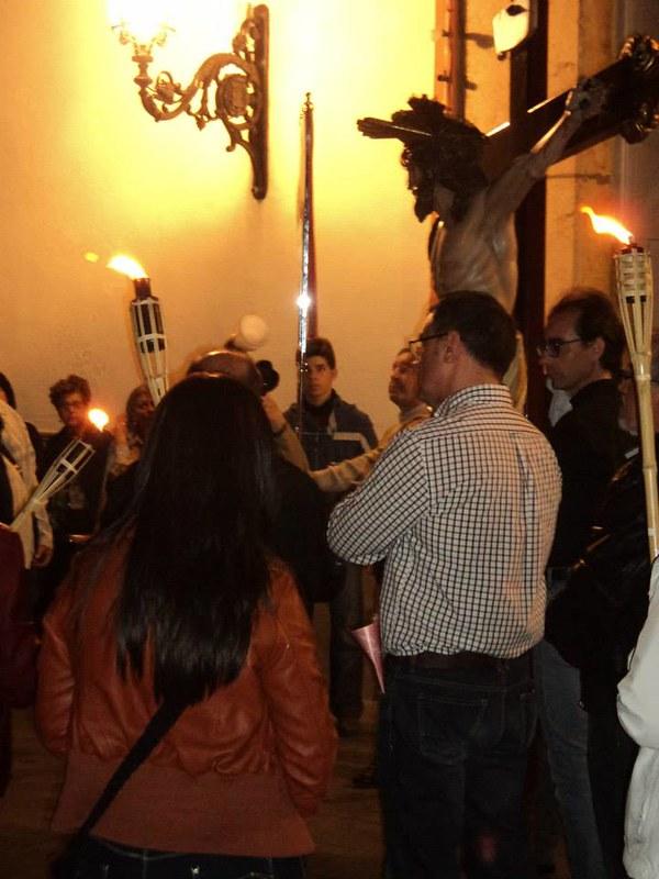 (2014-04-01) - V Vía Crucis nocturno -  Antonio Vázquez (02)