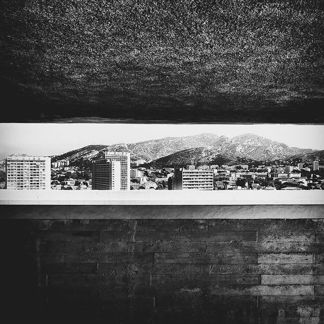 Marseille - In the discovery of the Radiant City / Marseille - A la découverte de la Cité Radieuse # 7