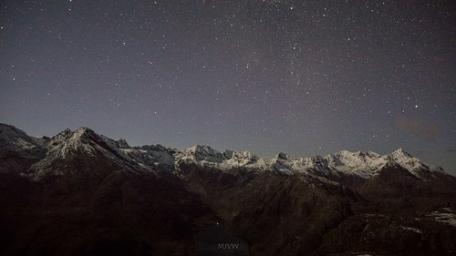Stars above the Cuillin Ridge | by Scotland's Mountains