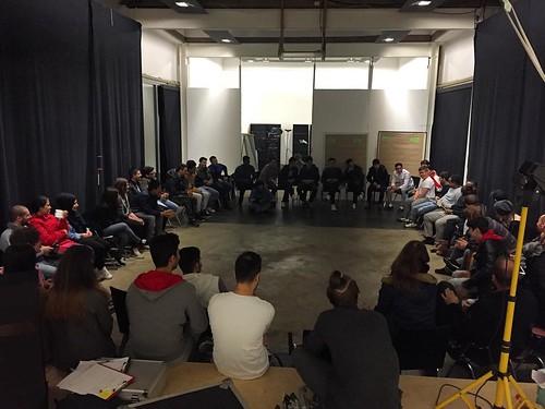 Volles Haus ist voll. @connecting_abc trifft #HotelCaliforniaFilm Nachfolgeprojekt.   by ABC Bildungs- und Tagungszentrum