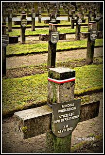 battle of Warsaw 1920  War Cemetery