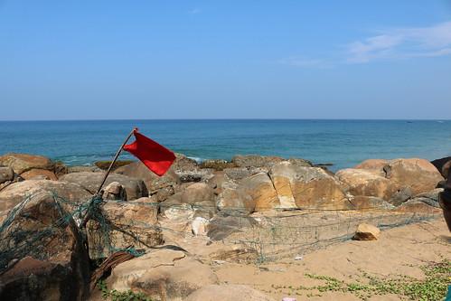 Red Flag @ Grow Beach | by babumuchhala
