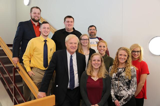 Chris Matthews and Students
