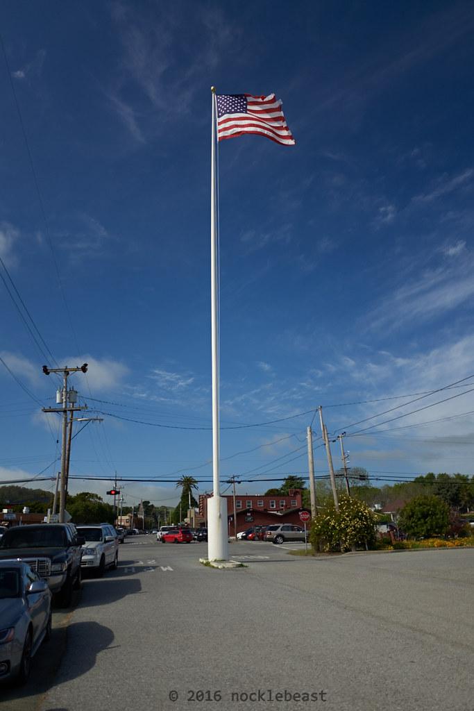 my that's a tall flag pole