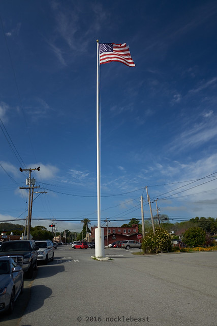 my that's a tall flag pole