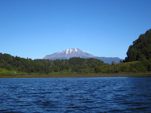 View of Volcán Calbuco While Kayaking near Puerto Varas, Chile | by blueskylimit