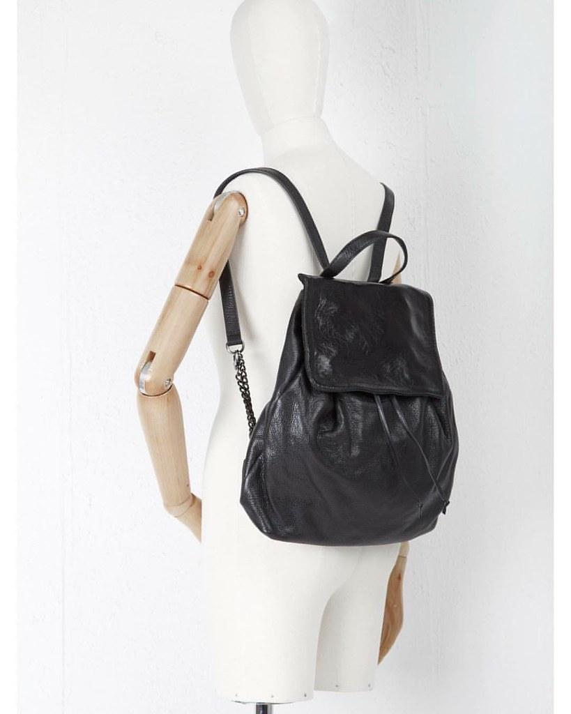 the best attitude 0c63b 2b157 Ixos Black backpack in store #ErediCorazza #bag #backpack ...