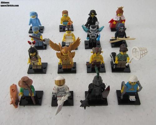 Lego Minifigures S15 ensemble