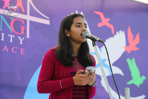 Devotional song by Vidhi and Saathi from Jammu